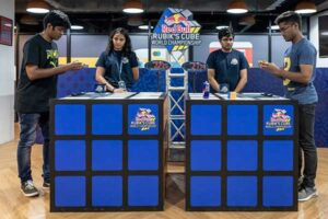 Red Bull Rubiks Cube World Championship in India
